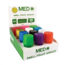 Contenedor Medtainer -color solido- Display 12pc