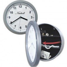 Functioning Wall Clock Security Container - 10.25&...