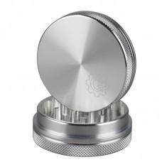 "2.2"" Grindhouse 2pc Aluminum Grinder - Silver"