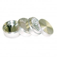 "2.2"" Sharpstone 4pc Vibrating Grinder - Silve..."