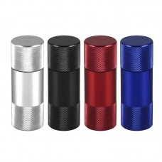 "12PC - Aluminum Pollen Press (5pc) - 2.25""x.7..."
