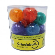 18PC BUCKET - GrindaBall - Assorted Transparent Co...