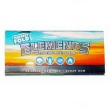 25pk Elements Ultra Thin Perfect Fold 1 1/4 Rice R...