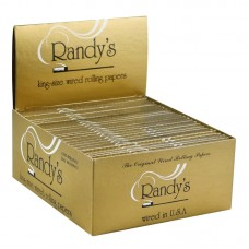25pc DISPLAY - Randy's Wired Rolling Papers - King...