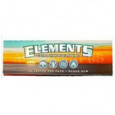 """25pc Elements Ultra Rice 1 1/4"""" Rolling Paper..."""