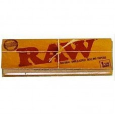 24PC DISPLAY - Raw Classic Rolling Papers - 1 1/4&...