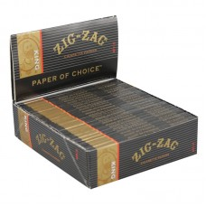 24pk Zig Zag Slow-Burning Kingsize Rolling Papers ...