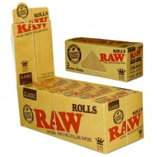 12pc Display - Raw Kingsize Rolls Rolling Papers