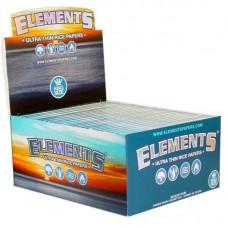 50pc Display - Elements Kingsize Ultra Thin Rollin...
