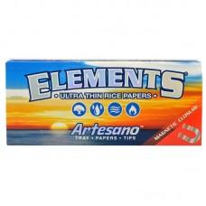 15pc Display - Elements Kingsize Slim Artesano Ult...