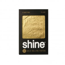 """Shine 24K Gold Rolling Papers - 1 1/4"""", 12 pa..."""