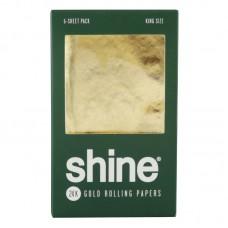 Shine 24K Gold Rolling Papers - 6pk / Kingsize