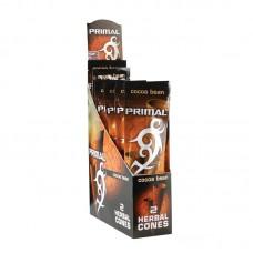 15pc Display - Primal Herbal Cones - Cocoa Bean