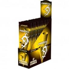 15PC DISPLAY - Primal Herbal Cones - Pineapple