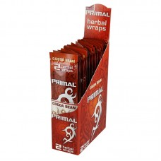 25pc Display - Primal Herbal Wraps - Cocoa Bean