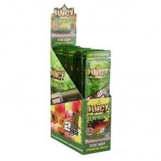 25PK DISPLAY - Juicy Hemp Wraps - 2pc - Mango Papa...