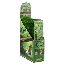 25PK DISPLAY - Juicy Hemp Wraps - 2pc - Natural