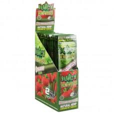 25PK DISPLAY - Juicy Hemp Wraps - 2pc / Strawberry...