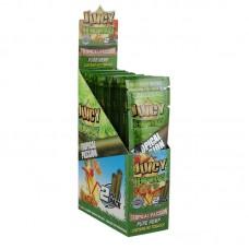 25PK DISPLAY - Juicy Hemp Wraps - 2pc - Tropical P...