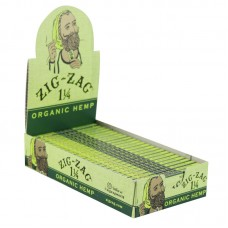 "Zig Zag Organic Hemp Rolling Papers - 1.25"" -..."