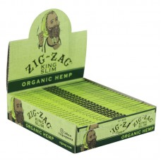 Zig Zag Organic Hemp Rolling Papers - Kingsize Sli...