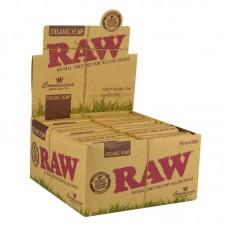 24PC DISP -Raw Organic Connoisseur Kingsize Rollin...