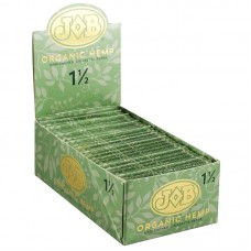 24PC DISPLAY - JOB Organic Hemp Rolling Papers - 1...
