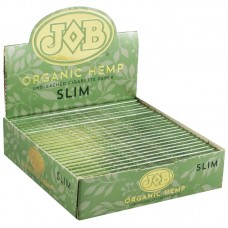 24PC DISPLAY - JOB Organic Hemp Rolling Papers - S...