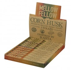 Mellow Fellow Blunt Wraps - Corn Husk - 12pc Displ...