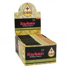 "Kashmir CBD Hemp Rolling Papers - 1 1/4"" - 50..."