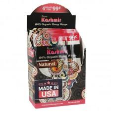 Kashmir Organic Hemp Wraps - 4 Pack - 15pc Display