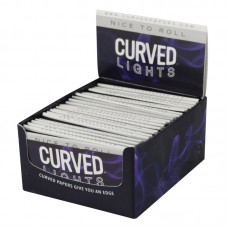 """Light Curved Rolling Papers - 1 1/4"""" - 24pc"""