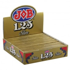 "JOB Rolling Papers - 1 1/4"" Slim - 24pc Displ..."