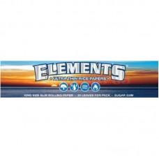 50pk Elements Ultra Thin Kingsize Slim Rice Rollin...