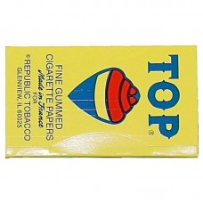 24pc TOP Fine Gum Single Wide Rolling Papers Displ...