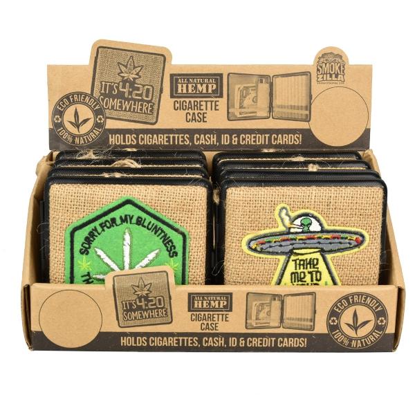Smokezilla Hemp Cigarette Case   Kingsize   8pc
