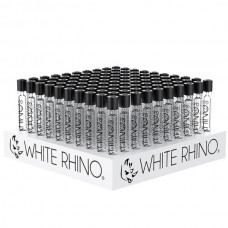 """White Rhino Chillum w/ Silicone Cap - 4.5"""""""