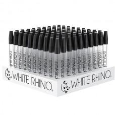 "White Rhino Dab Straw w/ Silicone Cap - 5"""