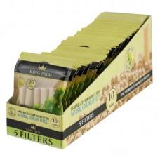 King Palm Corn Husk Filters - 5ct / 10mm - 24pc Di...