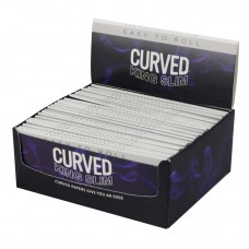 Curved Rolling Papers - Kingsize Slim - 24pc
